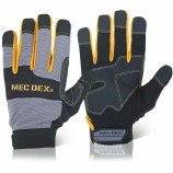 Mecdex MECDY-713 Work Passion Impact Mechanics Glove