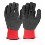 Click 2000 MP4FC M/P F/C Black Latex Poly Glovearge