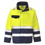 Portwest MV25 Hi Vis MODAFLAME Jacket