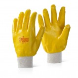 Click 2000 NKWFCLW Nitrile Knit Wrist Fully Coated Lightweight Glove