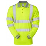 PULSAR P458 Long Sleeve Hi-viz Polo Shirt