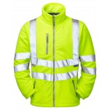 PULSAR P507 Interactive Hi-viz Fleece Jacket