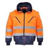 Portwest Hi-Vis 3-in-1 Pilot Jacket