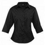 Premier PR305 Ladies 3/4 Sleeve Poplin%2