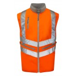 PULSAR PR498 Rail Spec Interactive Hi-viz Body Warmer