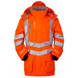 PULSAR PR502 Rail Spec Padded Hi-viz Storm Coat