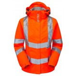 NEW PR705 PULSAR Ladies Rail Spec Hi-viz Storm Coat
