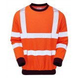 PULSAR PRARC20 Rail Spec FR-AST-ARC Hi-viz Sweat Shirt