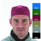Le Chef Colour Skull Cap Cherry