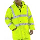 B-Seen Lined Breathable Hi-Viz Jacket