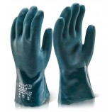 Click 2000 PVCDD30 Pvc Double Dip Chemical Glove 30Cm Gauntlet
