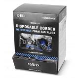 Qed QED301CD Corded Detectable Ear Plug Box 200