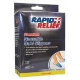 "Rapid Aid RA11550 Premium Reusable Cold Slippers 5""X12"""