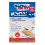 "Rapid Aid RA11357 Instant Cold Pack C/W Self Adhering Wrap 5""X9"" Retail Box"