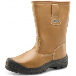 Click Rigger Boot Lined with Scuff Cap