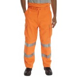 B-Seen Rail Spec Work Trousers Hi Viz%