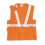 Portwest Hi-Vis Long Vest GO/RT