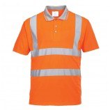 Portwest Hi-Vis Short Sleeved Polo Shirt
