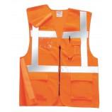 Portwest Executive Rail Vest GO/RT