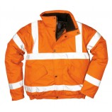 Portwest RT32 Hi-Vis Bomber Jacket GO/RT