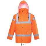 Portwest Hi-Vis Breathable Jacket GO/RT