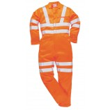 Portwest RT42 Hi-Vis Poly-cotton Coverall GO/RT
