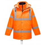 Portwest RT63 Hi-Vis Breathable Traffic Jacket (Interactive)
