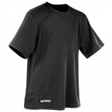 Spiro SR253B Quick Dry Short Sleeve Junior T-Shirt