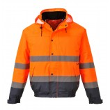 Portwest S266 Hi-Vis Two Tone Bomber Jacket