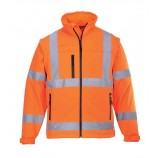 Portwest Hi-Vis Softshell Jacket (3L)