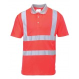 Portwest Hi-Vis Short Sleeve Polo Shirt