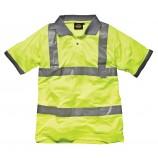 Dickies SA22075 Hi Visibility Safety Pol
