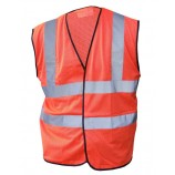 B-Seen HVMWOR Hivis Mesh Vest