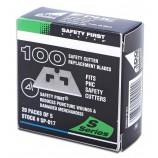 Pacific Handy Cutter SP-017 Safety Point Blades (Pack 100)