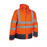 Cofra Telsen Hi Viz Winter Jacket