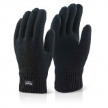 Click 2000 LTHGBL Ladies Thinsulate Glove Black 5563