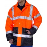 B-Seen Two Tone Traffic Jacket