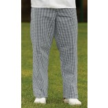 Harpoon CCTN Chefs Check Trousers Small Navy / White Check