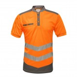 Tactical Threads TRS176 Tactical Hi Viz Polo