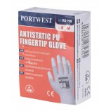 Portwest VA198 Vending Antistatic PU Fingertip Glove