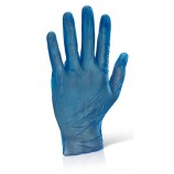 Vinyl Disposable Gloves Blue