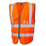 Leo Workwear Barnstaple Superior Railway Waistcoat