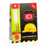 Vitalid WSID02 Emergency Id Data Window (Ice)