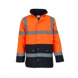 Yoko YK048 High visibility two-tone motorway jacket (HVP302)