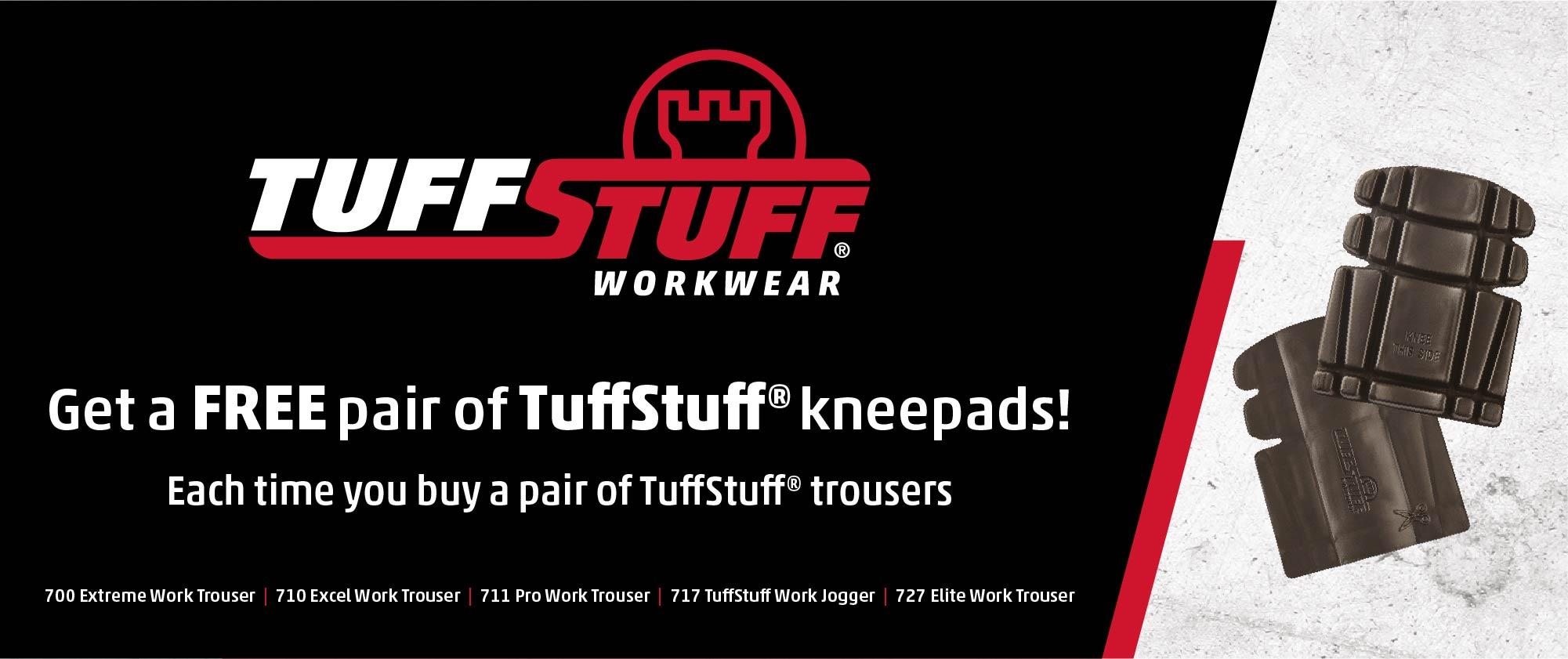 Tuff Stuff free kneepads