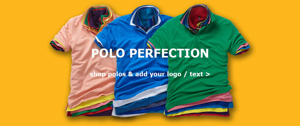 personalised polos