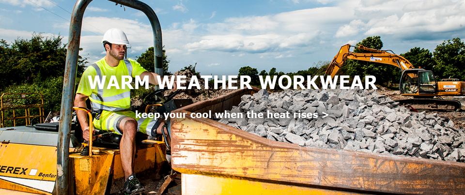warm weather workwear
